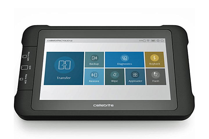 Cellebrite – Touch 2 | Desktop
